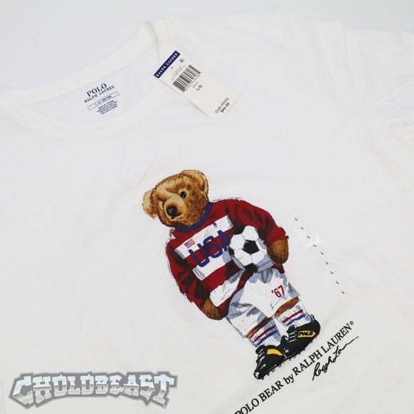 b9cdef8ccc1 Polo by Ralph Lauren Shirts | Nwt Polo Ralph Lauren Usa Soccer Bear ...